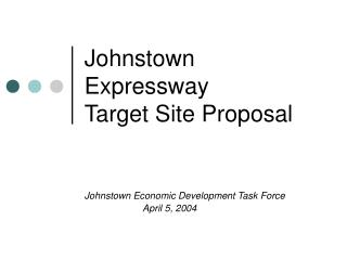 Johnstown Expressway Target Site Proposal