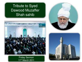 Friday Sermon 11 th March 2011