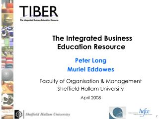 The Integrated Business Education Resource