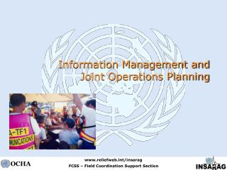 Information Management and Joint Operations Planning