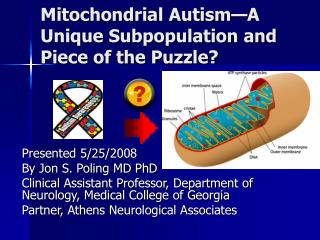 Mitochondrial Autism—A Unique Subpopulation and Piece of the Puzzle?