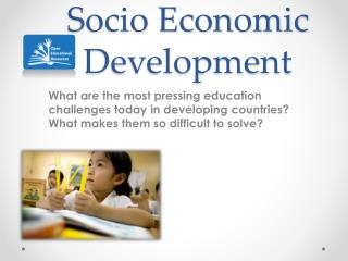 Socio Economic Development