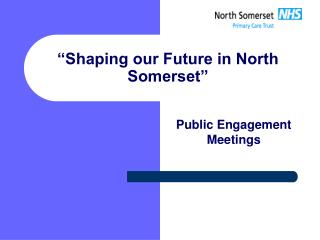 """Shaping our Future in North Somerset"""