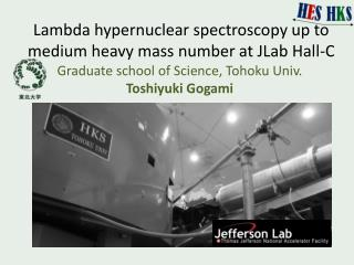 Lambd a  hypernuclear  spectroscopy up to medium heavy mass number at JLab Hall-C