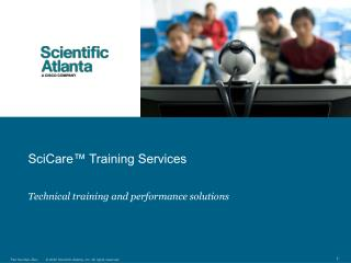 SciCare™ Training Services