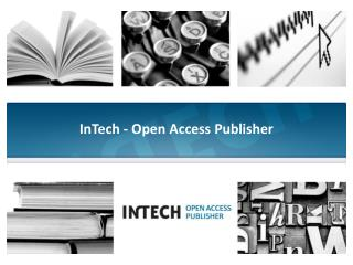 InTech - Open Access Publisher