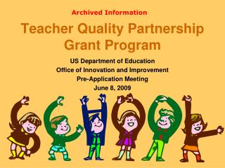 Teacher Quality Partnership Grant Program