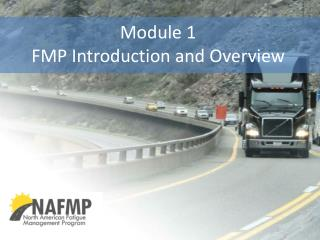 Module 1 FMP Introduction and  Overview
