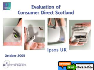 Evaluation of  Consumer Direct Scotland