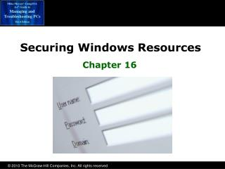 Securing Windows Resources