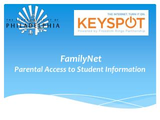 FamilyNet Parental Access to Student Information
