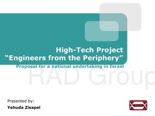 "High-Tech Project ""Engineers from the Periphery"""