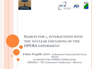 Search for  ν τ  interactions with the nuclear emulsions of the OPERA experiment