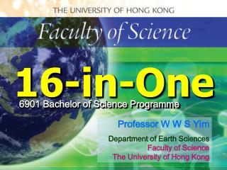 The University of Hong Kong Faculty of Science