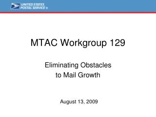 MTAC Workgroup 129
