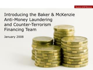 Anti-Money Laundering and  Counter-Terrorism Financing Team