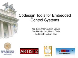 Codesign Tools for Embedded Control Systems