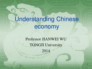 Understanding Chinese economy