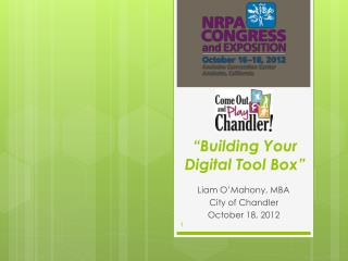 """Building Your Digital Tool Box"""