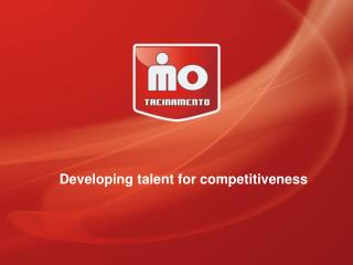 Developing  talent for competitiveness