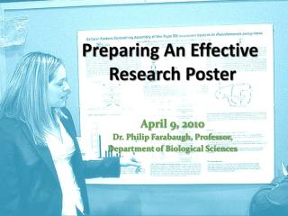 Preparing An Effective  Research Poster