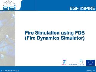 Fire Simulation using FDS  (Fire Dynamics Simulator)