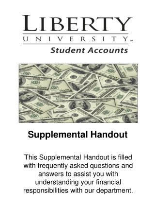 Supplemental Handout