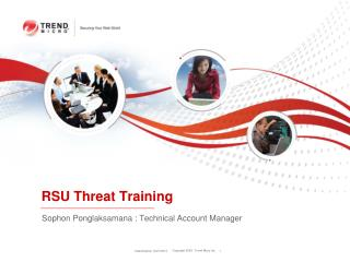 RSU  Threat  Training