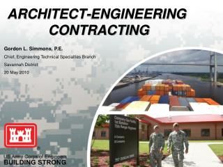 ARCHITECT-ENGINEERING  CONTRACTING