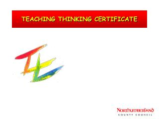 TEACHING THINKING CERTIFICATE