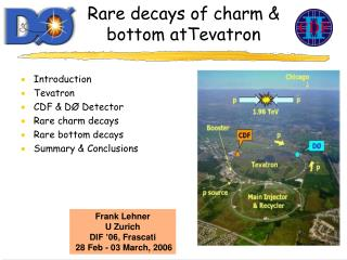 Rare decays of charm & bottom atTevatron