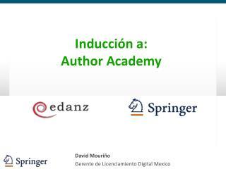 David Mouriño Gerente de Licenciamiento Digital Mexico