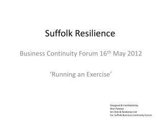 Suffolk Resilience