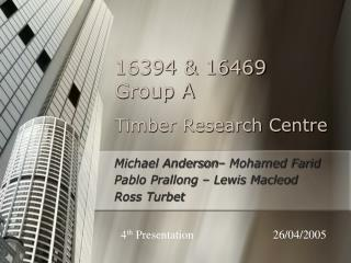 Timber Research Centre