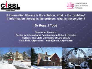 If information literacy is the solution, what is the  problem?