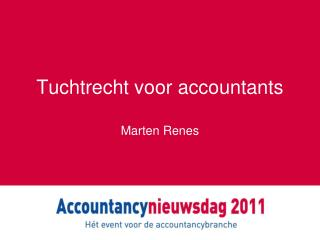 Tuchtrecht voor accountants