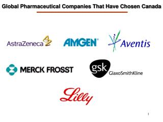 Global Pharmaceutical Companies That Have Chosen Canada