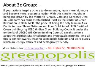 3c Greenopolis,3c Greenopolis Gurgaon 9811004272 Improve You