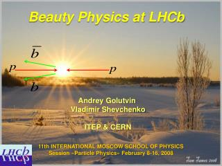 Beauty Physics at  LHCb