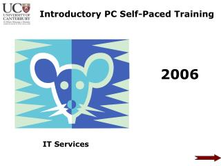 Introductory PC Self-Paced Training