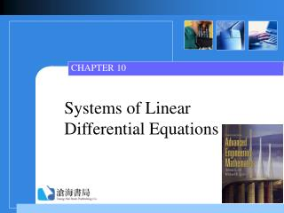 Systems of Linear Differential Equations
