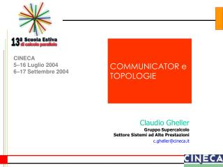 COMMUNICATOR e TOPOLOGIE