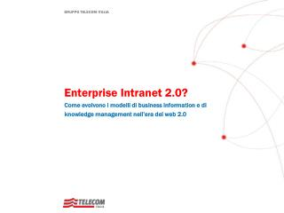 Enterprise  Intranet 2.0?
