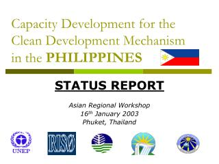 Capacity Development for the Clean Development Mechanism in the PHILIPPINES
