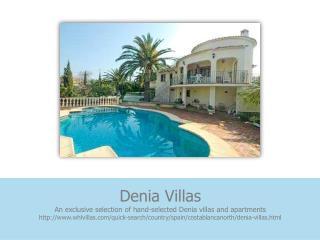 denia villas