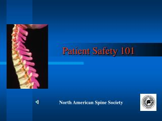 Patient Safety 101