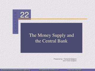 The Money Supply and the  Central Bank