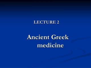 The Use of Plants in the Practice of Medicine through History