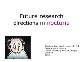 Future research  directions  in  nocturia