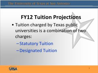 FY12 Tuition Projections